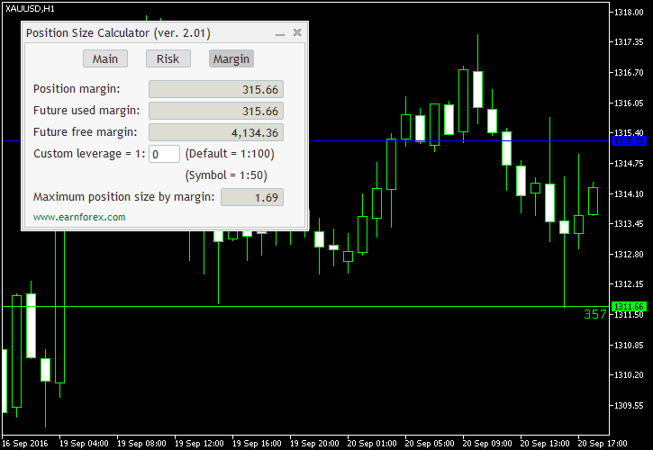 Forex position size calculator leverage
