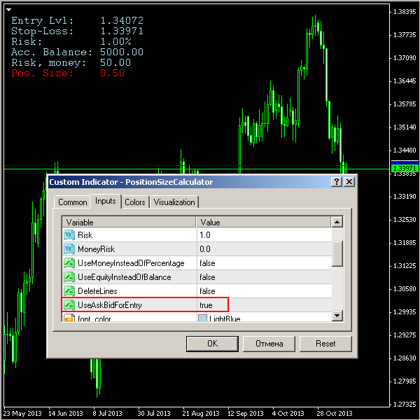 Forex profit calculation example