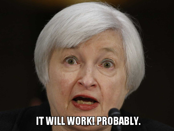 Janet Yellen Is Telling Us that It Will Work. Probably.