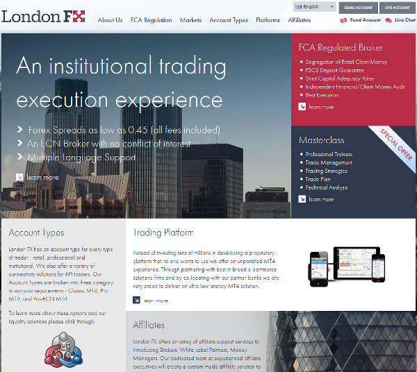 List of forex brokers in london