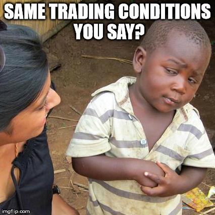 Feeling skeptical about trading conditions when transferred to another Forex broker