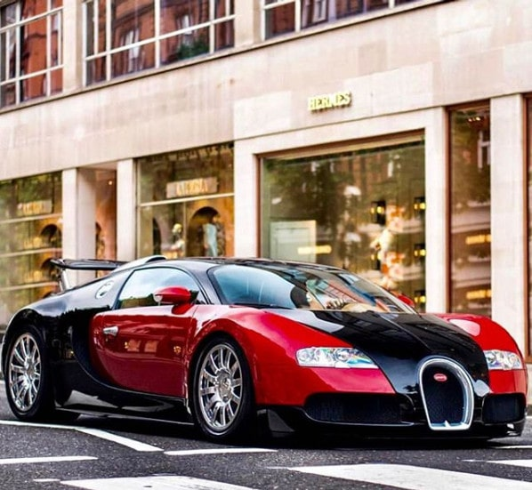 Bugatti from Instagram