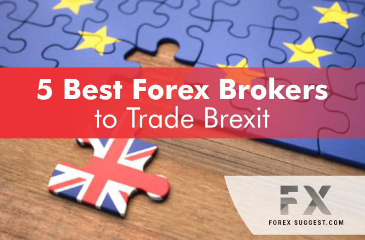 Best brokers to trade Brexit